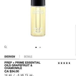 MAC careblends essential oil